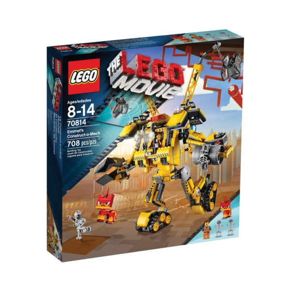 Brickly - 70814 Lego Movie Emmet's Construct-o-Mech - Box Front