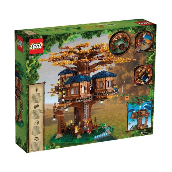 Brickly - 21318 - Lego Ideas Tree House - Box Back