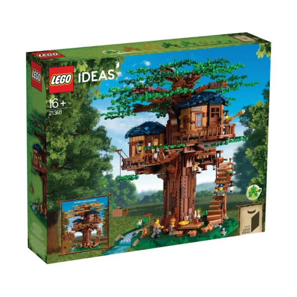 Brickly - 21318 - Lego Ideas Tree House - Box Front