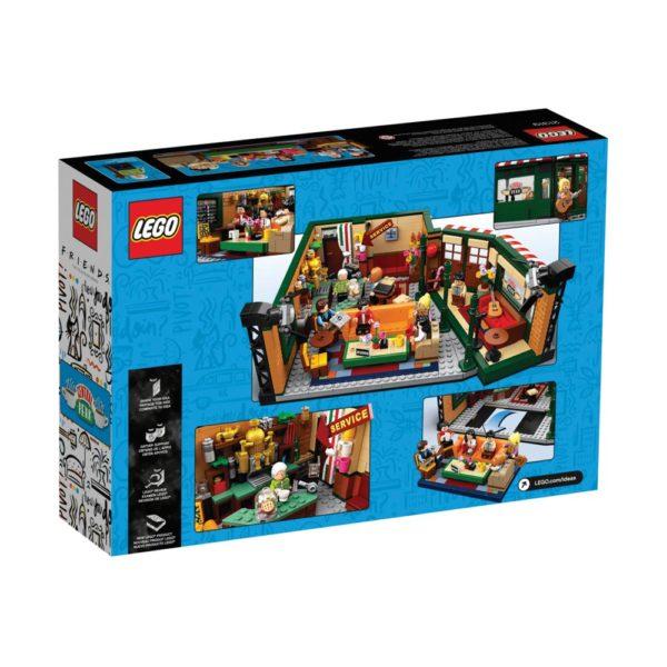 Brickly - 21319 - Lego Ideas Friends Central Perk - Box Back