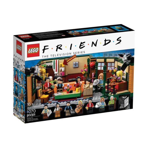 Brickly - 21319 - Lego Ideas Friends Central Perk - Box Front