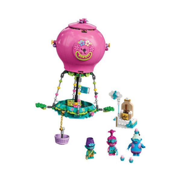 Brickly - 41252 Lego Trolls World Tour Poppy's Hot Air Balloon Adventure