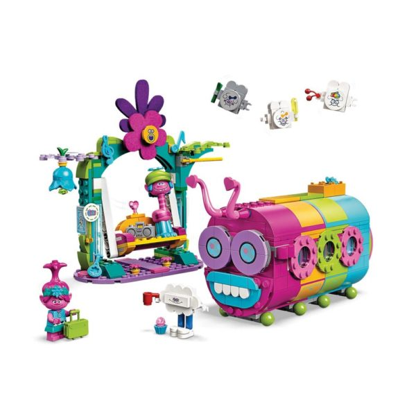 Brickly - 41256 Lego Trolls World Tour Rainbow Caterbus