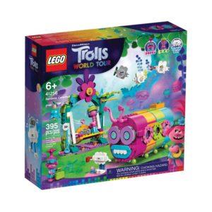 Brickly - 41256 Lego Trolls World Tour Rainbow Caterbus - Box Front