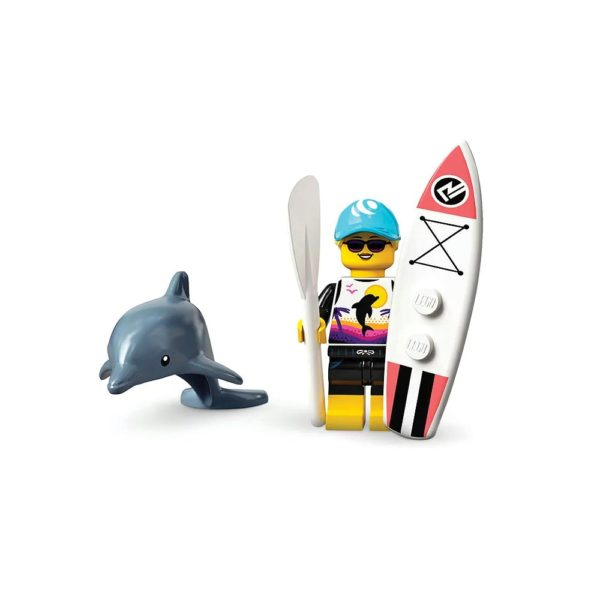 Brickly - 71029-1 Lego Series 21 Minifigures - Paddle Surfer