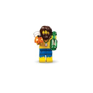 Brickly - 71029-3 Lego Series 21 Minifigures - Shipwreck Survivor