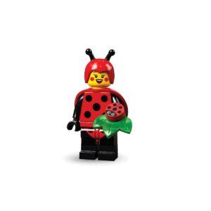 Brickly - 71029-4 Lego Series 21 Minifigures - Ladybird Girl