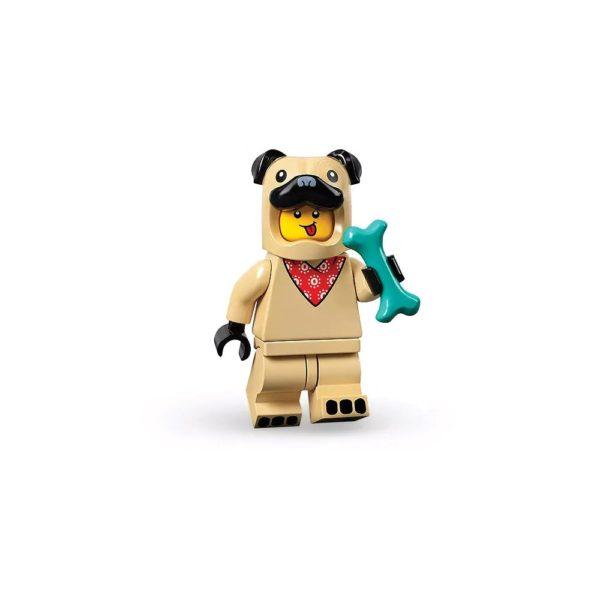 Brickly - 71029-5 Lego Series 21 Minifigures - Pug Costume Guy