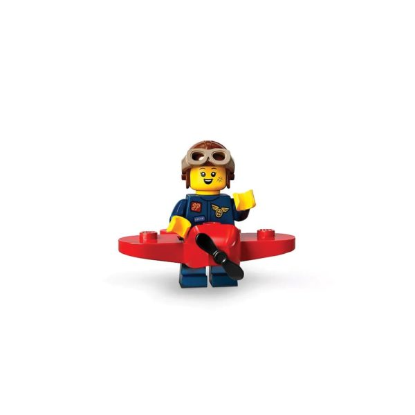 Brickly - 71029-9 Lego Series 21 Minifigures - Airplane Girl