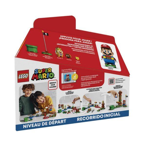 Brickly - 71360 Lego Super Mario Adventures with Mario Starter Course - Box Back