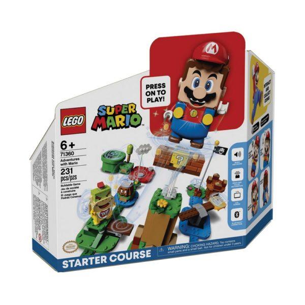 Brickly - 71360 Lego Super Mario Adventures with Mario Starter Course - Box Front