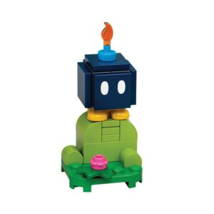 Brickly - 71361-6 Lego Super Mario Character Pack Series 1 - Bob-Omb