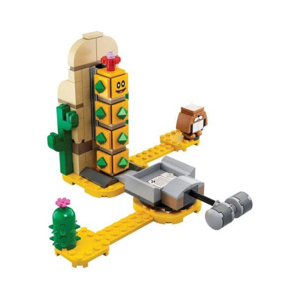 Brickly - 71363 Lego Super Mario Desert Pokey Expansion Set
