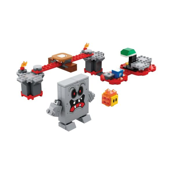 Brickly - 71364 Lego Super Mario Whomp's Lava Trouble Expansion Set