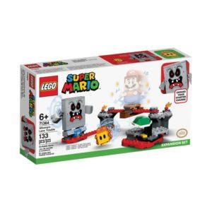 Brickly- 71364 Lego Super Mario Whomp's Lava Trouble Expansion Set - Box Front