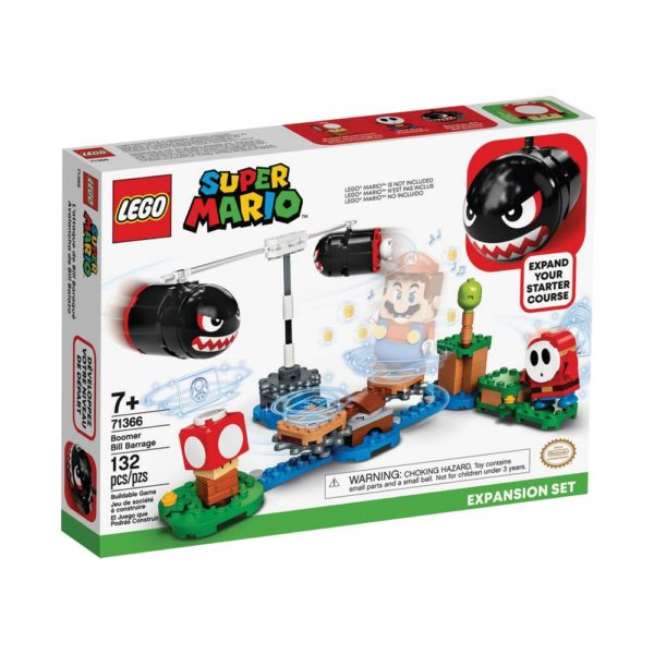 Brickly - 71366 Lego Super Mario Boomer Bill Barrage Expansion Set - Box Front