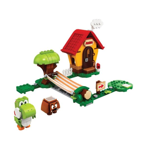 Brickly - 71367 Lego Super Mario Mario's House & Yoshi Expansion Set