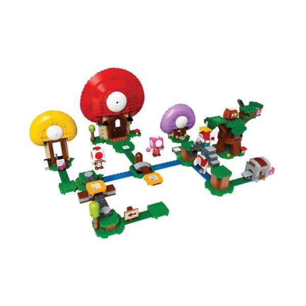 Brickly - 71368 Lego Super Mario Toad's Treasure Hunt Expansion Set