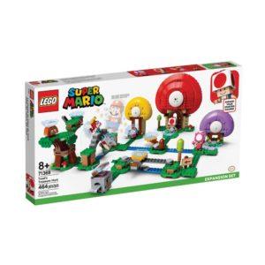 Brickly - 71368 Lego Super Mario Toad's Treasure Hunt Expansion Set - Box Front