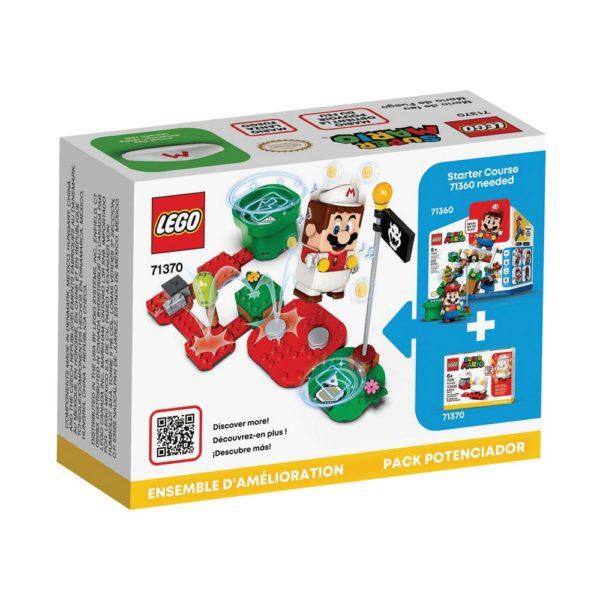 Brickly - 71370 Lego Super Mario Fire Mario Power-Up Pack - Box Back