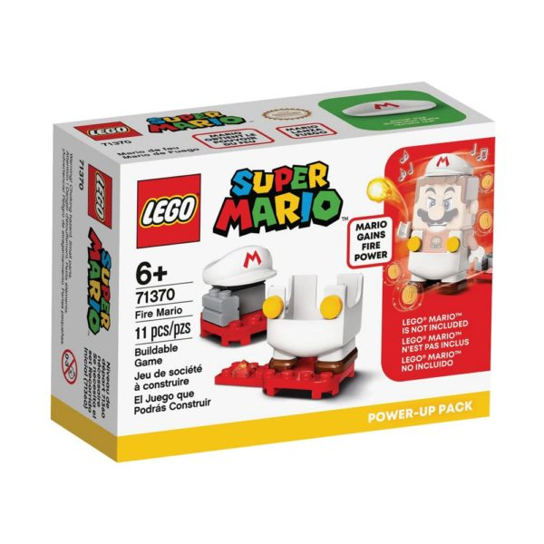 Brickly - 71370 Lego Super Mario Fire Mario Power-Up Pack -Box Front