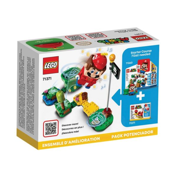 Brickly - 71371 Lego Super Mario Propeller Mario Power-Up Pack - Box Back