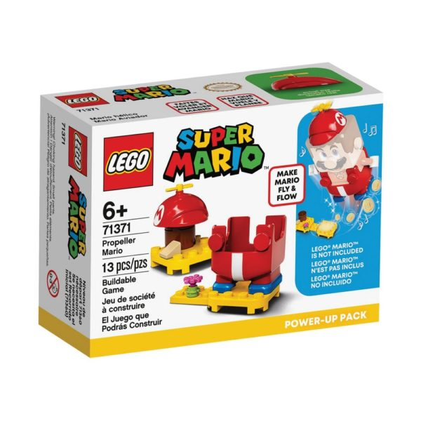Brickly - 71371 Lego Super Mario Propeller Mario Power-Up Pack - Box Front