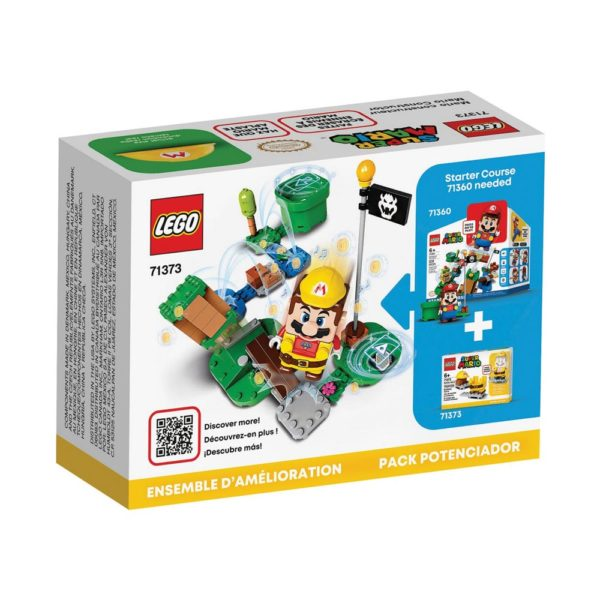 Brickly - 71373 Lego Super Mario Builder Mario Power-Up Pack - Box Back