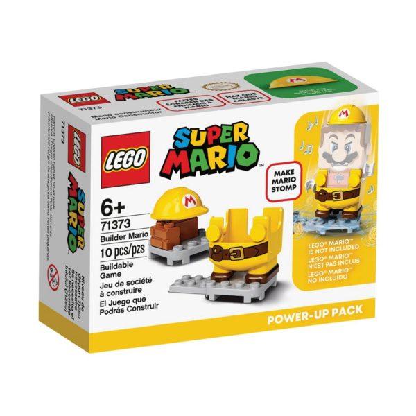Brickly - 71373 Lego Super Mario Builder Mario Power-Up Pack - Box Front