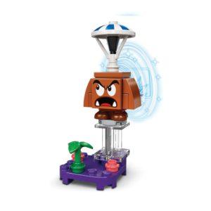 Brickly - 71386-5 Lego Super Mario Character Pack Series 2 - Parachute Goomba
