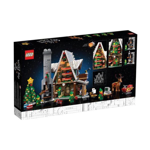 Brickly - 10275 Lego Creator Elf Club House - Box Back