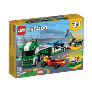 Brickly - 31113 Lego Creator Race Car Transporter - Box Front