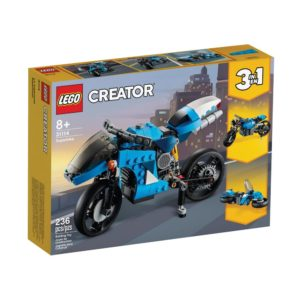 Brickly - 31114 Lego Creator Superbike - Box Front