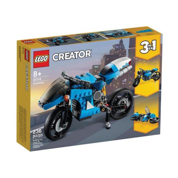 Brickly - 31114 Lego Creator Superbike - Box Front