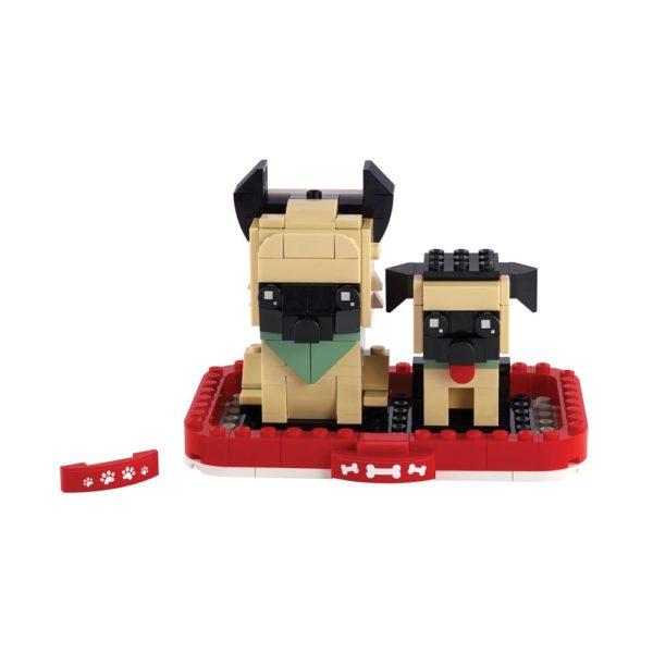 Brickly - 40440 Lego BrickHeadz German Shepherd
