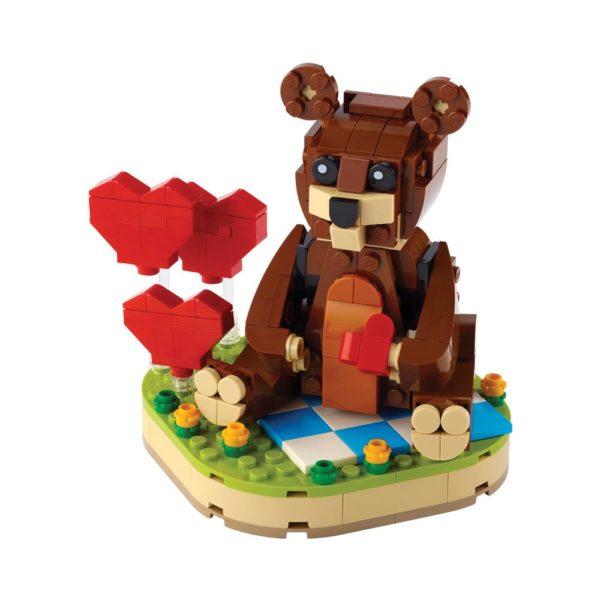 Brickly - 40462 Lego Valentine's Brown Bear