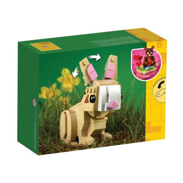 Brickly - 40463 Lego Easter Bunny - Box Back