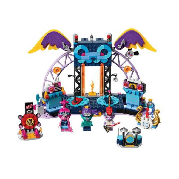 Brickly - 41254 Lego Trolls World Tour Volcano Rock City Concert