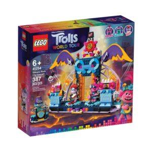 Brickly - 41254 Lego Trolls World Tour Volcano Rock City Concert - Box Front