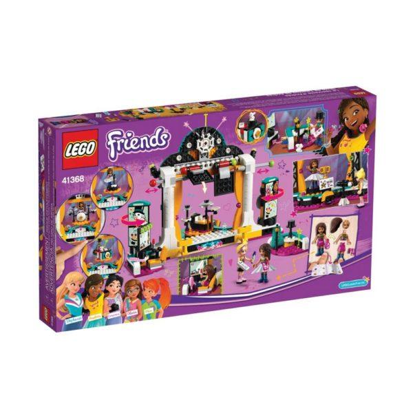 Brickly - 41368 Lego Friends Andrea's Talent Show - Box Back