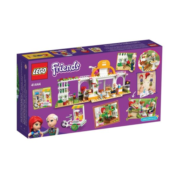 Brickly - 41444 Lego Friends Heartlake City Organic Café - Box Back