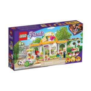 Brickly - 41444 Lego Friends Heartlake City Organic Café - Box Front