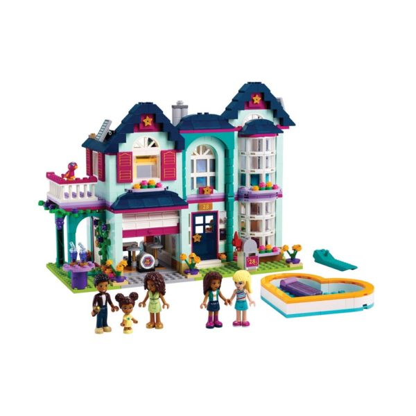 Brickly - 41449 Lego Friends Andrea's Family House