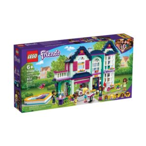 Brickly - 41449 Lego Friends Andrea's Family House - Box Front