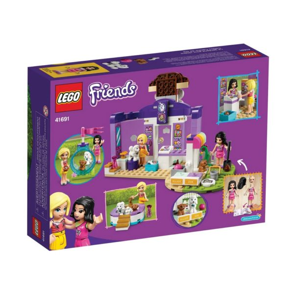 Brickly - 41691 Lego Friends Doggy Day Care - Box Back