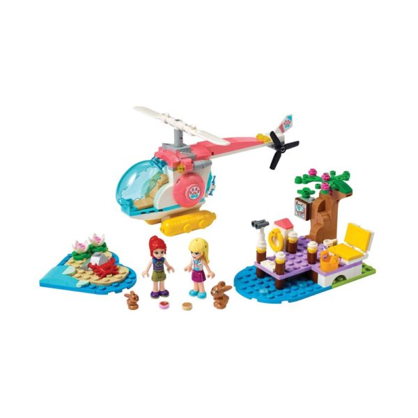 Brickly - 41692 Lego Friends Vet Clinic Rescue Helicopter