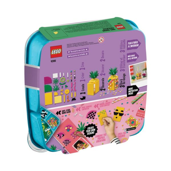 Brickly - 41906 Lego Dots Pineapple Pencil Holder - Box Back