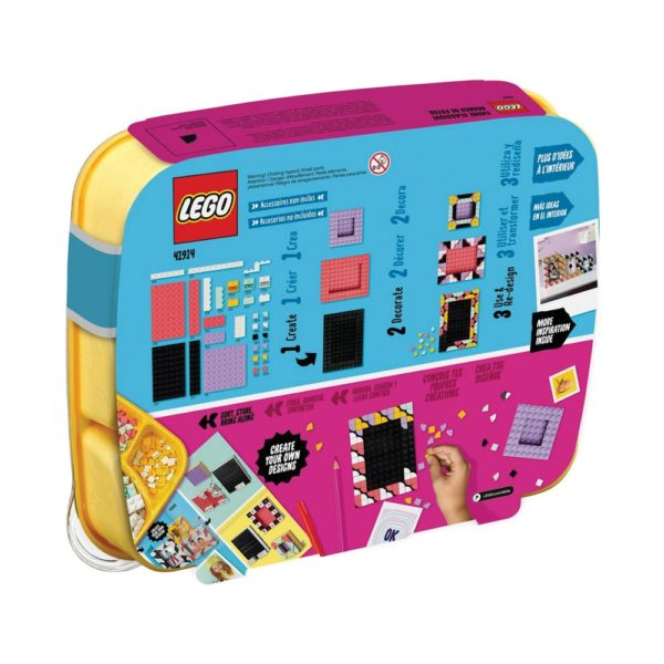 Brickly - 41914 Lego Dots Creative Picture Frames - Box Back
