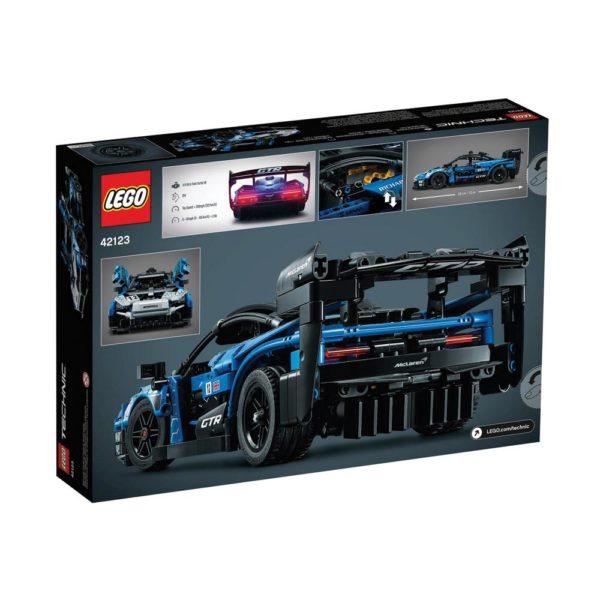 Brickly - 42123 Lego Technic McLaren Senna GTR™ - Box Back
