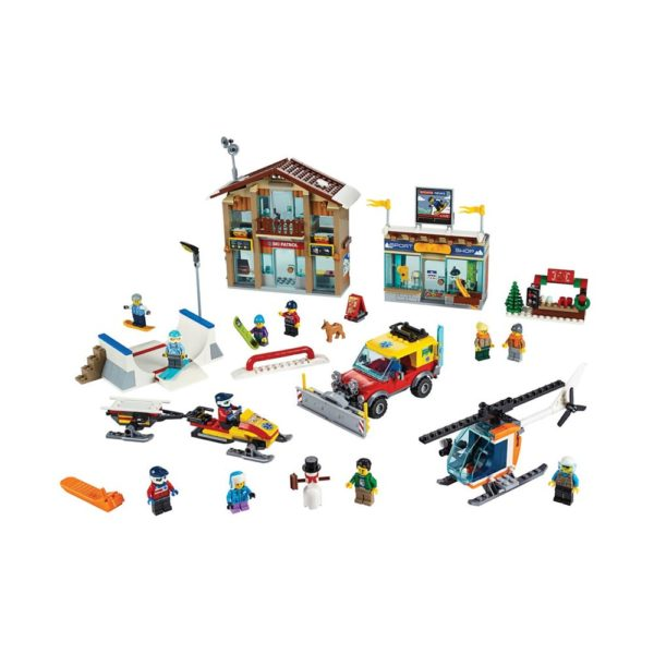 Brickly - 60203 Lego City Ski Resort